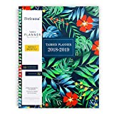 """Ferirama Yearly Monthly Weekly & Daily Planner 2018-2019, Academic Agenda for Teachers Students, 8.5 x 11"""" with Note Pages"""