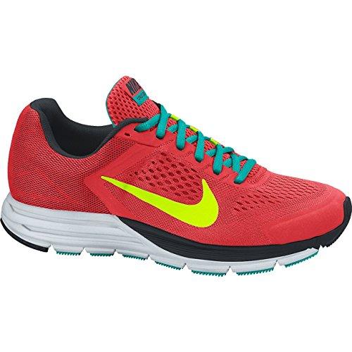 Nike Zoom Structure + 17 para hombre amaestradores corrientes 615 587 600 zapatillas de deporte Nike - lt crimson/blk-tm rd-plrzd bl