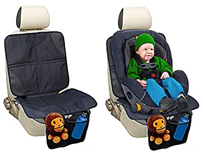 Car Seat Protector By Lebogner - Luxury Mat Cover Protector To Keep Nice And Clean Under Your Baby's Infant Car Booster Seat, Protects Your Auto Leather And Upholstery Seats From Damage.