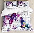 Bedding Set Watercolor Art Modern Duvet Cover Set1 Duvet Cover + 2 Pillow Shams