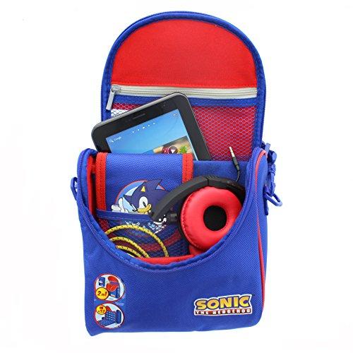 Sonic el erizo UTSO-1CB-BLUE-DS-ST Gadget bolsa para 20,32 cm Tablets