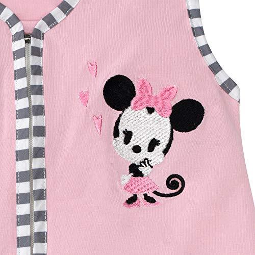 Lambs & Ivy Disney Baby Minnie Mouse 4 Piece Nursery Crib Bedding Set, Pink