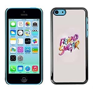 PC/Aluminum Funda Carcasa protectora para Apple Iphone 5C sugar / JUSTGO PHONE PROTECTOR