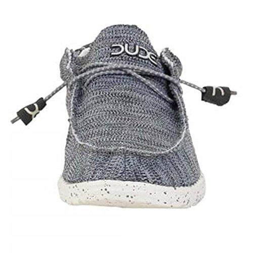 Dude Mens Wally Sox Shoe Grey 9 plqMIH