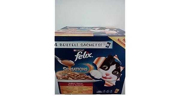 Felix Sensations de salsas de Sause 24 x 100g: Amazon.es: Productos para mascotas