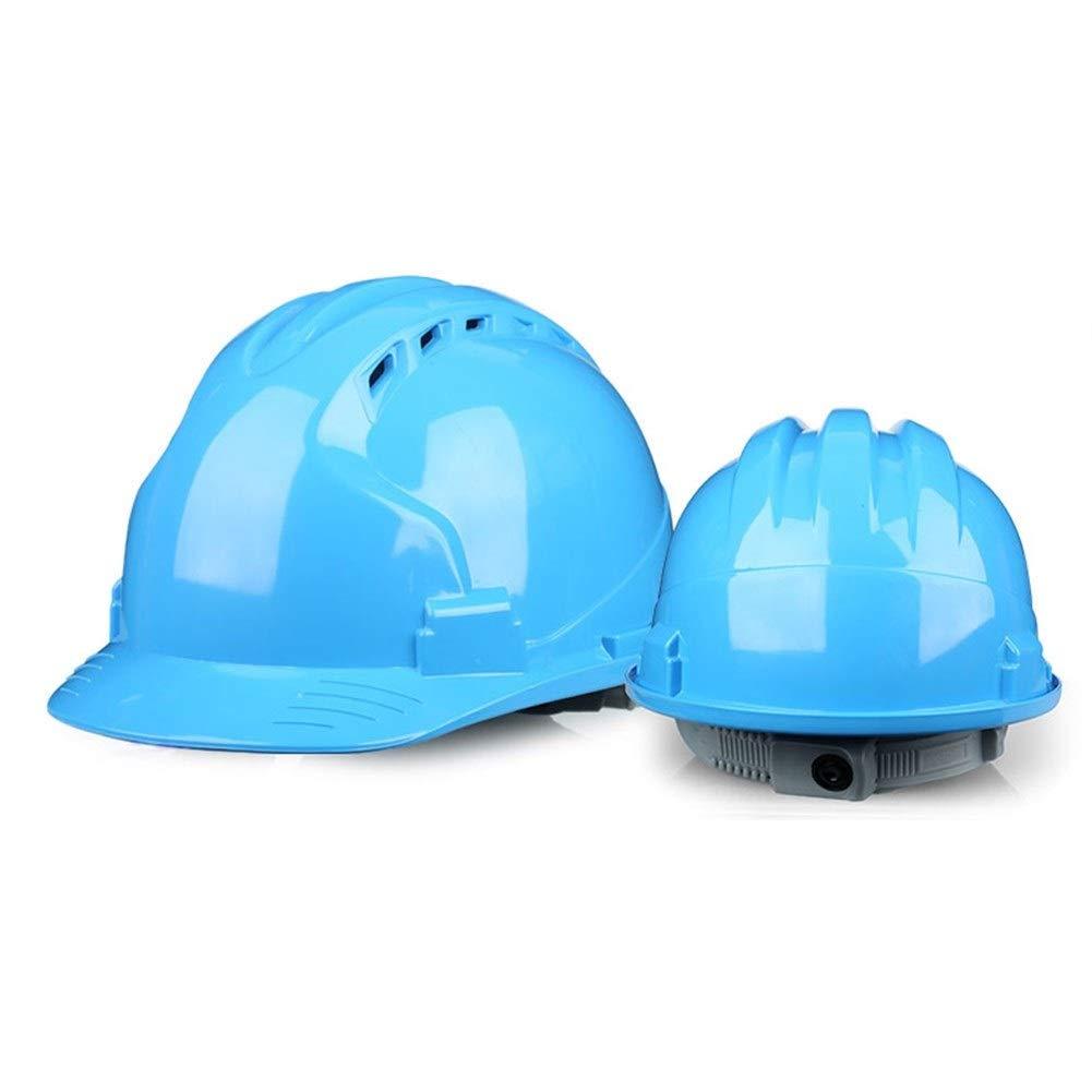 Color : Black, Size : One size Yan Xiao Yu Construction de site de casque de s/écurit/é /à haute r/ésistance Ing/énierie de construction de casque de s/écurit/é de premier plan /Épaississement respirant