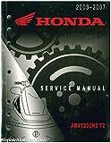 61HW304 2003-2007 Honda ARX1200T2 N2 AQUATRAX Factory Service Manual
