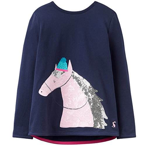 Joules AVA LUXE Applique Top 1-6yr