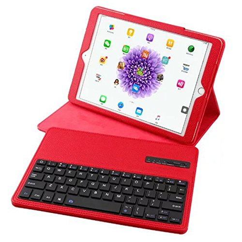 OLSUS Folding Wireless Keyboard for IPAD Air/Air 2/Pro2 9.7''- Red by OLSUS (Image #4)