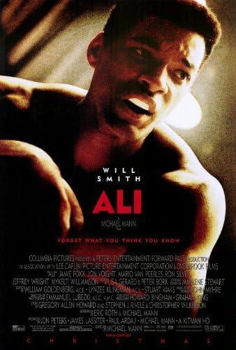 Póster de película 27 x 40 Ali - 69 cm x 102 cm Will Smith ...