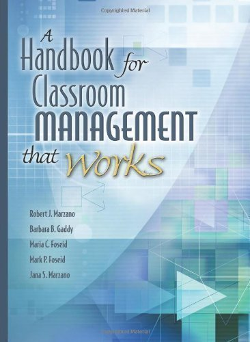 Handbook for Classroom Management That Works 1st (first) Edition by Marzano, Robert J., Gaddy, Barbara B., Foseid, Marcia C. published by Association for Supervision & Curriculum Deve (2005) Paperback
