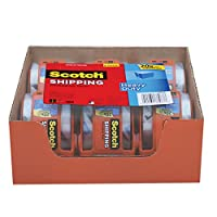 Scotch Heavy Duty Shipping Packaging Tape, 1.88 Inches x 800 Inches, 6 Rolls with Dispenser (142-6)