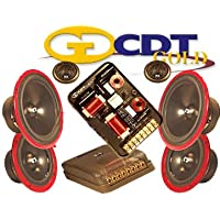 Hd-642 Gold - CDT Audio 6.5 / 4 3 Way Gold Series Component System