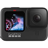 Câmera GoPro HERO9 Black à Prova D'água com LCD Frontal, Vídeo em 5K, Foto de 20 MP, Transmissão Ao Vivo em 1080p…
