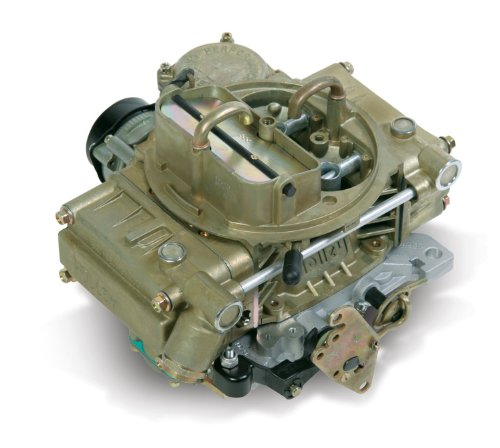 Holley 0-80319-1 600 CFM Marine Four Barrel Performance Vacuum Secondary Electric Choke Carburetor by Holley