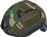 Evike Matrix Bump Type Helmet Cover (Color Woodland)