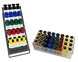 CanDo 10-3845 Digi-Flex Multi Large Clinic Pack, Deluxe, 5 Pre-Built Multis Plus 32 Button Set with Rack