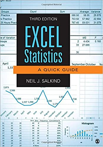 Amazon excel statistics a quick guide 9781483374048 neil j amazon excel statistics a quick guide 9781483374048 neil j salkind books fandeluxe Choice Image