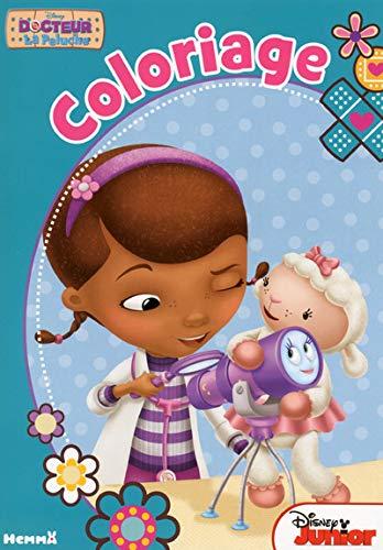 Docteur La Peluche Coloriage Amazon Fr Disney Livres