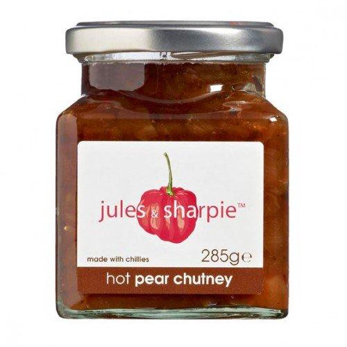 Jules & Sharpie Hot Pear Chutney (Pear Chutney)