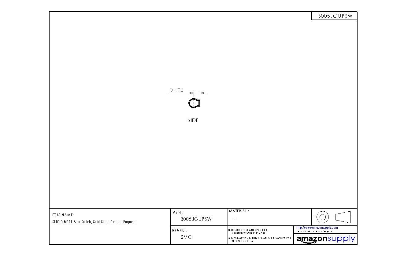 SMC D-M9PL Auto Switch, Solid State, General Purpose