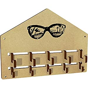 'Sunglasses Reflection' Wall Mounted Coat Hooks / Rack (WH00023262)