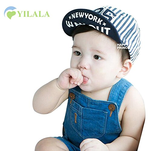 Buy Generic star white   Fashion Baby Boys Caps Cotton Star Dots Hat Solid  Striped Baby Hats Summer Girls Sun Hats Kids Baseball Caps Baby Accessories  ... 6b2552cb1ad