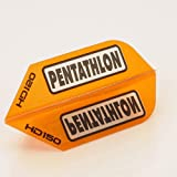 5 x Sets of Pentathlon Orange Super Tough HD150 Dart Flights, Slim