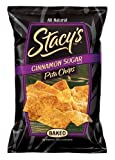 Stacy's Pita Chips, Cinnamon Sugar, 6-Ounce Bag (Pack of 12)