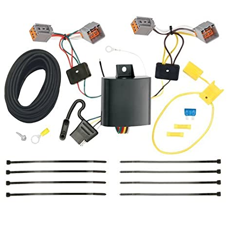amazon com draw tite t connector hitch wiring kit ford transit rh amazon com 2014 Ford Transit Connect XLT 2013 Ford Transit Connect