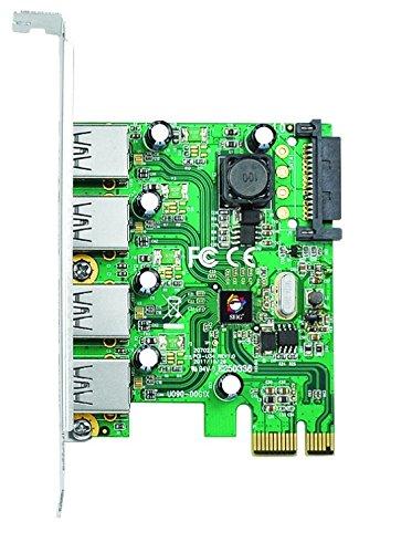 SIIG 4-Port USB 3.0 PCIe (JU-P40412-S1)
