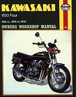 Kawasaki kz650 1977 1983 penton staff 9780892872961 amazon books kawasaki kz650 1976 78 haynes repair manuals fandeluxe Images