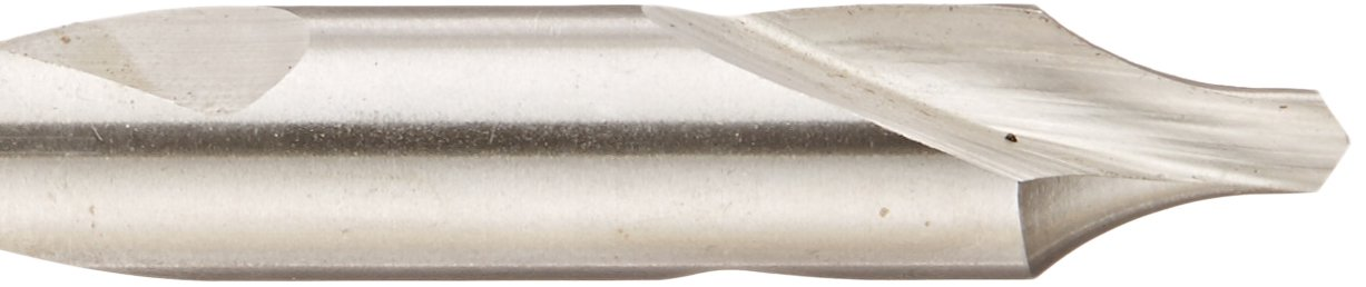 KEO 18480 Cobalt Steel Radius Type Combined Drill and Countersink 8.00mm Body Diameter Round Shank Bright Uncoated 120 Degree Point Angle Finish 3.15mm Point Diameter
