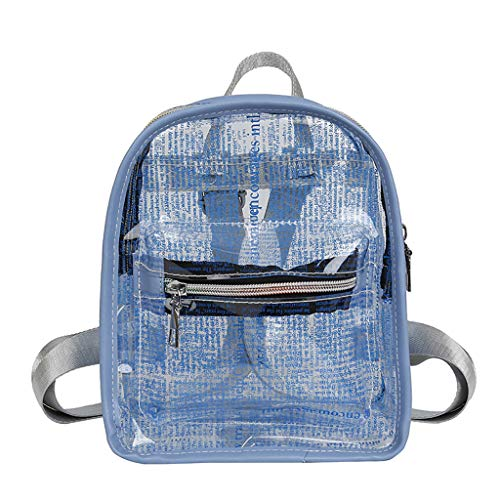 (Clearance!DDKK backpacks Heavy Duty Transparent Clear Backpack See Through Backpacks-Clear Backpack with Reinforced Straps for School, Security, Sporting Events)