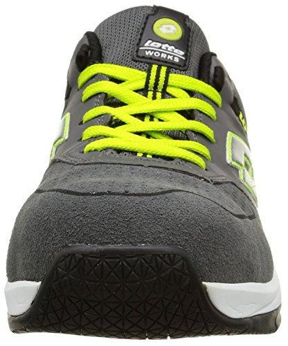 Chaussures de securité Lotto Works STREET 500 S1P Gris Jaune