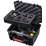 Smatree GA700-2 with ABS materials Floaty/ Water-Resist Hard Case for Gopro Hero 6,5,4, 3+, 3, 2,1 ,GOPRO HERO (2018)-(Camera and Accessories NOT included)