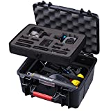 Smatree GA700-2 with ABS materials Floaty Water-Resist Hard Case for Gopro Hero 6 - 5 - 4 - 3+ - 3 - 2 - 1 ,GOPRO HERO (2018)-(Camera and Accessories NOT included)