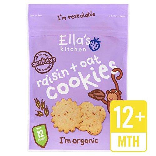 - Ella's Kitchen Oat & Raisins Cookies - 80g (0.18lbs)