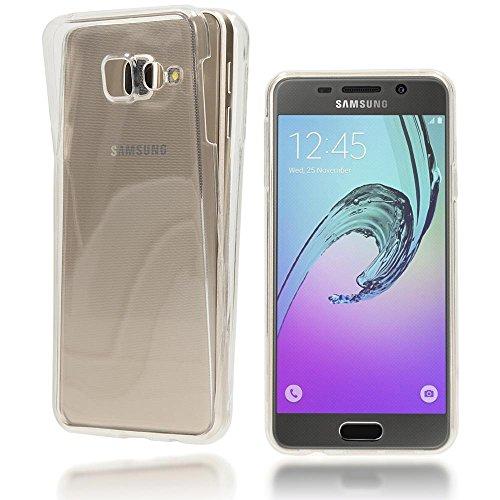 Slim Shockproof Case for Samsung Galaxy A3 (Blue) - 2