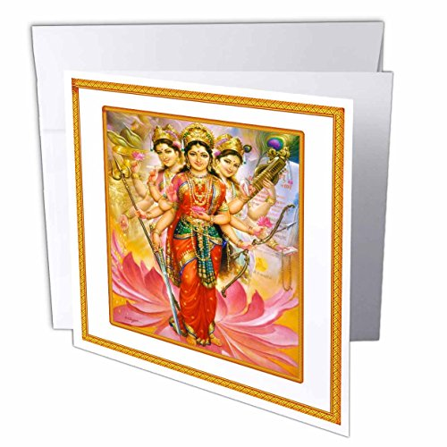 florene-famous-art-hindu-divine-mother-lakshmi-with-ornate-frame-greeting-cards-1-greeting-card-with