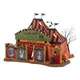 Department 56 Snow Village Halloween Travel Louie Otherworldly Persons Lit House, 6.89 inch