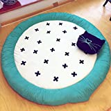 Rug WAN SAN QIAN Cotton Carpet Simple Bedroom Children's Room Climbing Pad Living Room Carpet Tent Mats 140cm (Color : A)