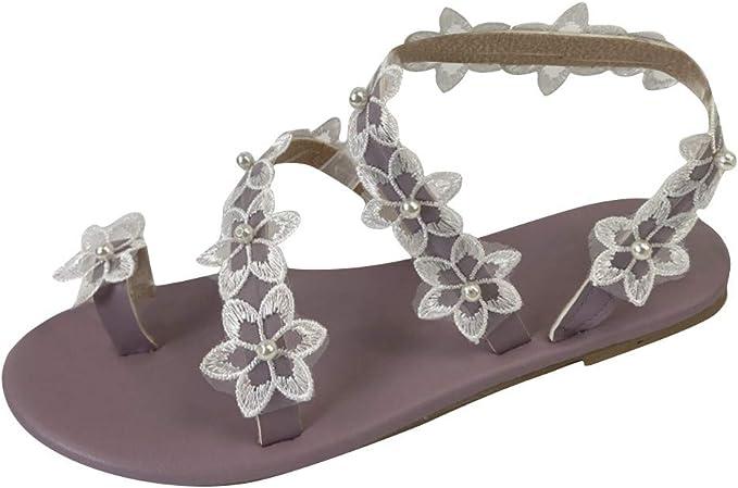 Damen Sandalen Flach Frauen Flip Flops Sandalen Sommerschuhe