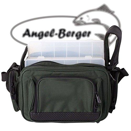 Luxus Angeltasche klein Zubehörtasche Kunstködertasche mit Boxen