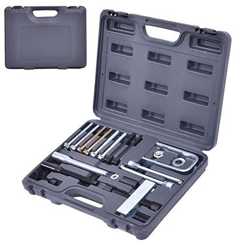Goplus 19 Pcs Steering Wheel Remover/Lock Plate Compressor Set ()