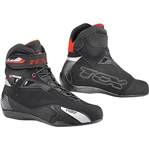 TCX Rush Waterproof Men's Street Motorcycle Shoes - Black / ()