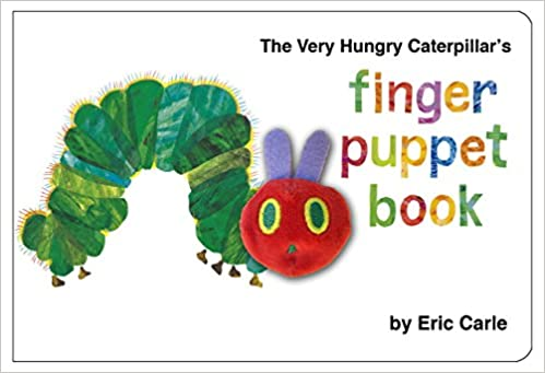 Book The Very Hungry Caterpillar Finger Puppet Book
