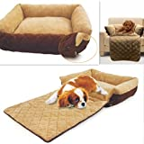 PAWZ Road Pet Soft Sofa Bed Puppy Cushion Mat Large