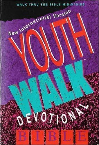 devotional Bible teen zondervan by