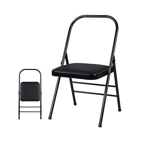 GW Silla Plegable, sillas Plegables Yoga Backless estándar ...